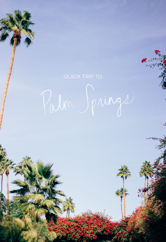 Something Sakura: Palm Springs
