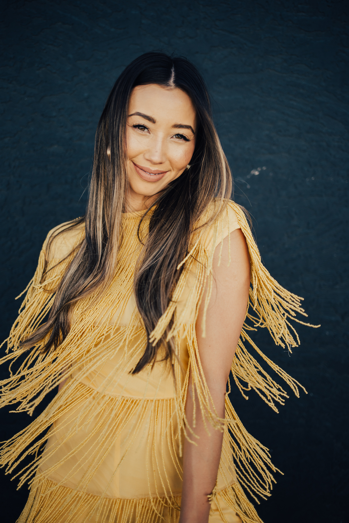 Something Sakura: Asos Yellow Fringe Romper