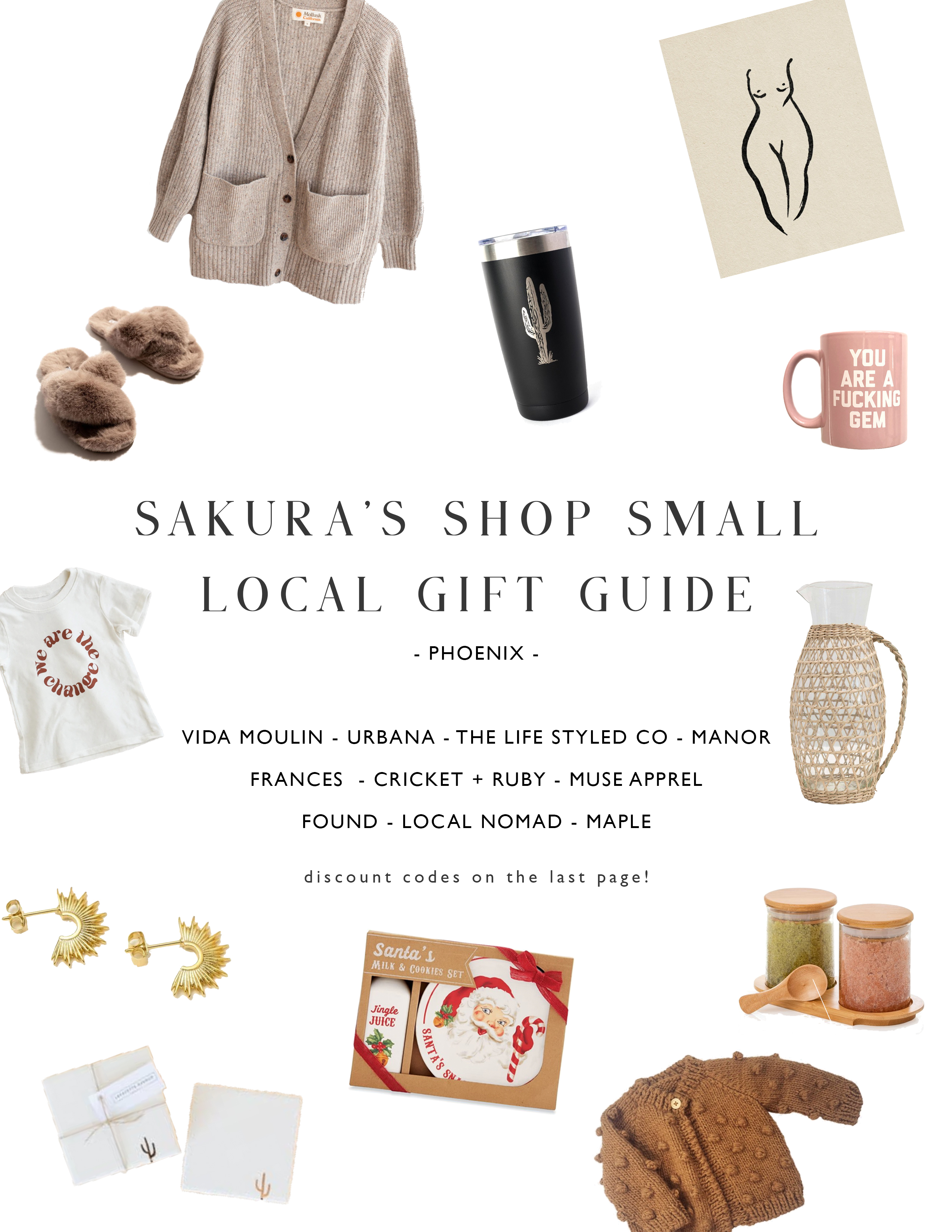 My Shop Small Local Gift Guide